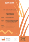 HDC BIO Zertifikat 2020-2022