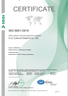 ISO 9001 2015 Certificate 2020-2023