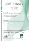 HACCP Certificate 2020-2023